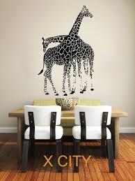 online get cheap african wall decal aliexpress com alibaba group giraffe animals jungle safari african childrens decor kids vinyl sticker wall decal nursery bedroom murals playroom