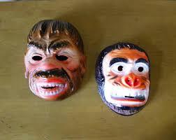 1960s Halloween Costume Vintage Halloween Mask Etsy