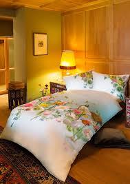 hefel trend bed linen flying flowers bedding tencel fabric