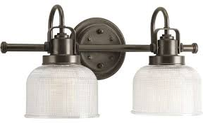 Traditional Vanity Lights Morris Double Wall Light Antique Nickel Traditional Bathroom