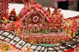 christmas gingerbread house christmas candy gingerbread house pictures photos and images for