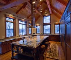 island range hood kitchen traditional with beam built in hood