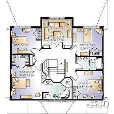plan de maison a etage 5 chambres plan de maison multi logements aguerria w3041 dessins drummond