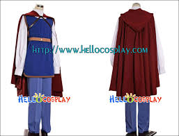 Red White Blue Halloween Costumes Snow White Prince Costume Halloween Snow White