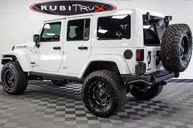 modified white jeep wrangler 2017 jeep wrangler rubicon unlimited hemi white