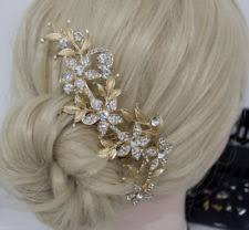 gold hair accessories bridal gold hair accessories ebay