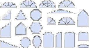 Circle Window Blinds Design Custom Window Treatments For Your Unique Windows With