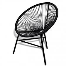 chaise de jardin chaise fauteuil de jardin en polyrotin pour intérieur ou extérieur