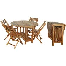 Folding Patio Table And Chair Set Attractive Folding Garden Table And Chairs Derang Acacia Wood