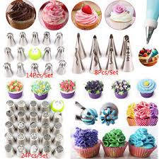Kits Russian Flower Cake Decorating Icing Piping Nozzles Tips
