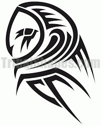 gallery for tribal owl designs designs