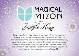 unboxing magical mizon a beauteque and samplehime collaboration