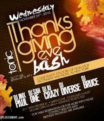 thanksgiving nightclub flyer 1 soultravelmultimedia