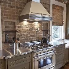 kitchen with brick backsplash kitchen brick backsplash design ideas