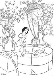 snow white coloring pages free online games videos for kids