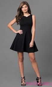 klshort black dresses sleeveless black dress promgirl