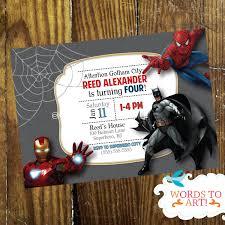 avengers invites disneyforever hd invtation card portal part 5