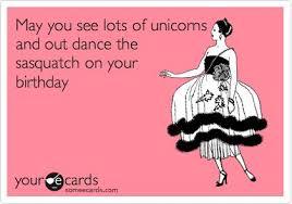 Unicorn Birthday Meme - dancing unicorn birthday meme unicorn best of the funny meme