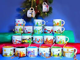 starbucks you are here yah demi ornament mug you ebay