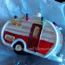 glass trailer retro vintage style ornament 2020140833 holidays