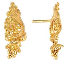gold earring studs designs 186 best 1000 designs of gold jewellery images on gold