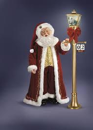 kinkade countdown to santa doll by the bradford