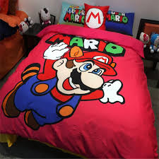 Mario Bros Bed Set Buy Mario Comforter And Get Free Shipping On Aliexpress