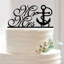 nautical cake toppers aliexpress buy wedding cake topper the knot anchor