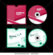 design cd cover cd cover design cd design stock vector 113268829