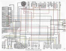 yamaha virago 535 wiring diagram yamaha wiring diagrams collection