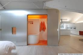 Pod Style Bathroom Bathroom Pods Inspired By Airstream Trailers Photos Huffpost