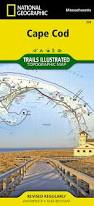 cape cod national geographic trails illustrated map national