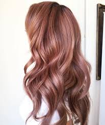 light rose gold haircolor 2017 hair color ideas pinterest