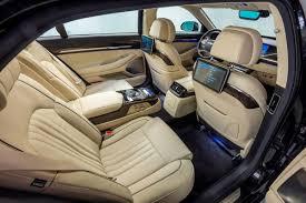 hyundai genesis back 2017 hyundai genesis g90 backseat interior photos gallery