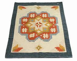 flat weave rug etsy