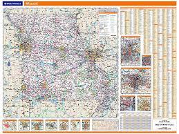 missouri map rand mcnally missouri map one map place inc