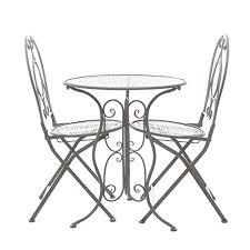 tavoli e sedie da giardino usati set tavolo e 2 sedie da giardino in ferro it casa e cucina