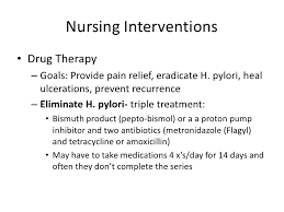 nursing care of patients with alterations in the gi tract