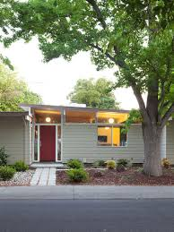 mid century modern homes exterior colors home modern
