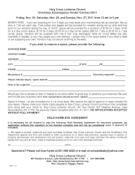 vendor contract agreement template