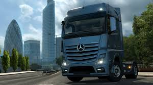 future mercedes truck euro truck simulator 2 introducing mercedes benz new actros youtube