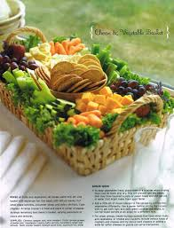 fruit and vegetable baskets potluck cheese cracker fruit veggie tray the basket