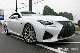 lexus rcf white lexus rcf with 20in tsw portier wheels exclusively from butler