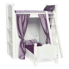 amazon com fits american doll loft bunk bed furniture with