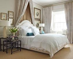 Curtains For Canopy Bed Dramatic Bed Canopies And Draperies Traditional Home