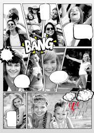 comic sles templates make a comic book picture collage maker