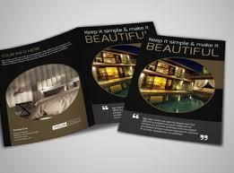 hotel brochure design templates five luxury hotels brochure template mycreativeshop