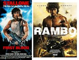 original vs remaker posters of movies from the past recreated for