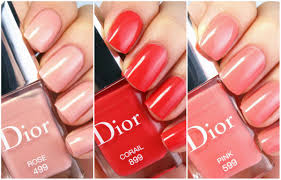 dior vernis spring 2015 limited edition nail polish in