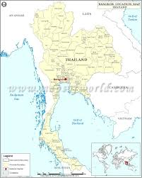 Map Of Thailand Maps Of Thailand Thailand Map Location South Eastern Asia Asia